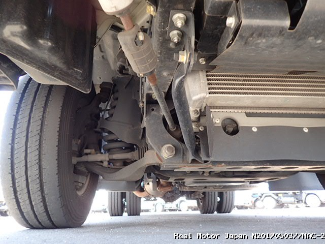Suspension system in truck jose