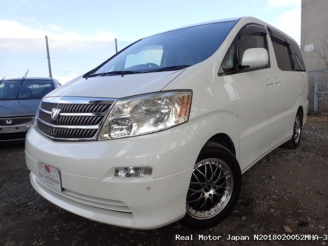 Toyota/ALPHARD/2005/N2018020052MHA-3 / Japanese Used Cars | Real