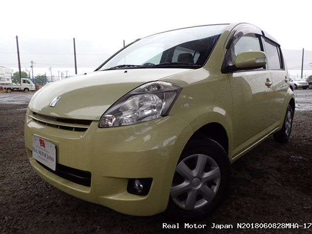 Toyota/PASSO/2009/N2018060828MHA-17 / Japanese Used Cars | Real