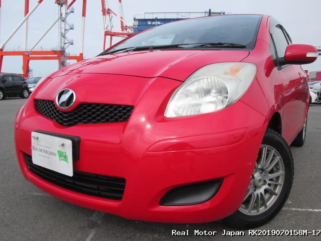 Toyota/VITZ/2010/RK2019070158M-17 / Japanese Used Cars