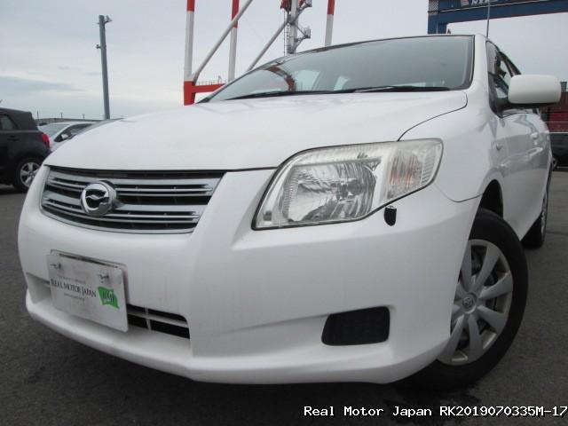 Toyota/COROLLA AXIO/2007/RK2019070335M-17 / Japanese Used Cars