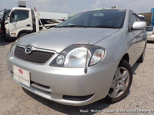 Toyota/COROLLA RUNX/2001/N2019080124MHA-17 / Japanese Used