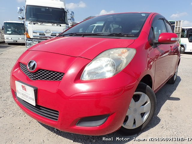 Toyota/VITZ/2008/N2019080131HD-17 / Japanese Used Cars