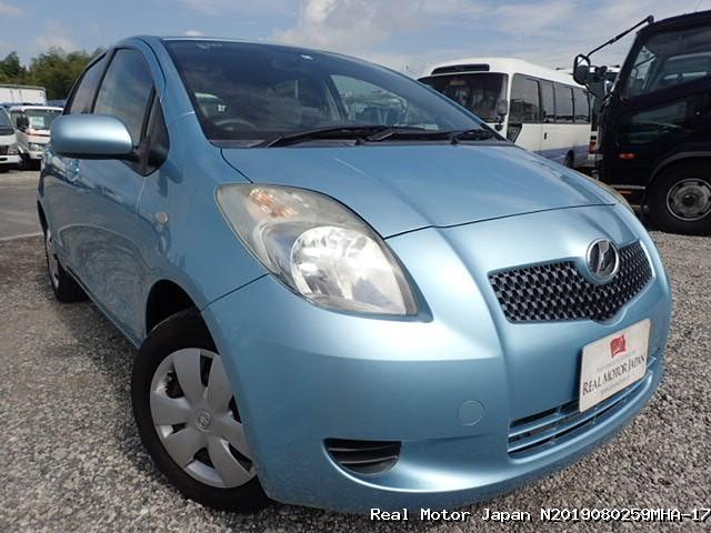 Toyota/VITZ/2007/N2019080259MHA-17 / Japanese Used Cars